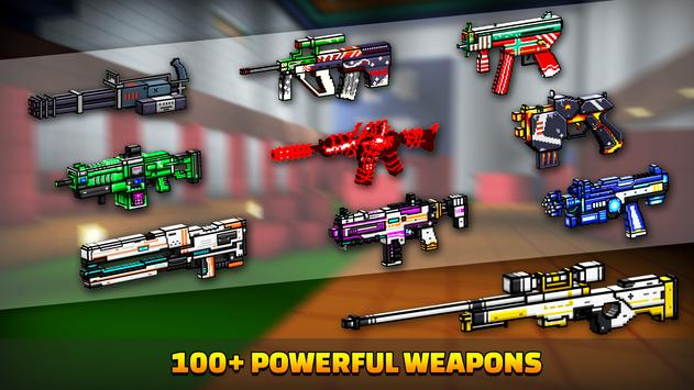 Cops N Robbers - 3D Pixel Craft Gun Shooting Games screenshot 4