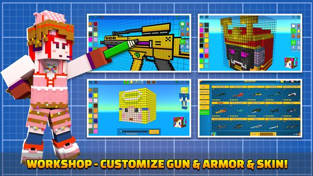 Cops N Robbers - 3D Pixel Craft Gun Shooting Games screenshot 6