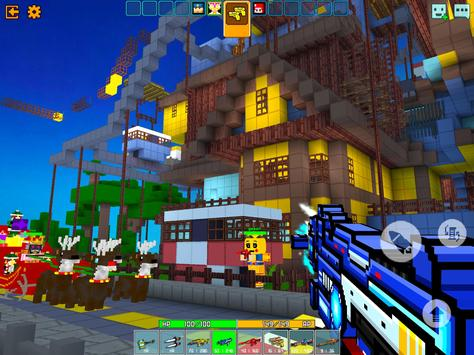Cops N Robbers - 3D Pixel Craft Gun Shooting Games screenshot 9