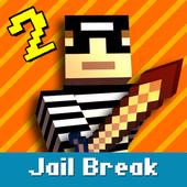 Cops N Robbers: Pixel Prison Games 2 आइकन