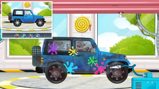 Hot Car Wheels - Ultimate Cars Wash Game screenshot 1