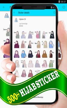 Hijab Sticker: WAStickerApp screenshot 7