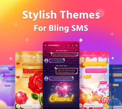 Bling SMS 海報