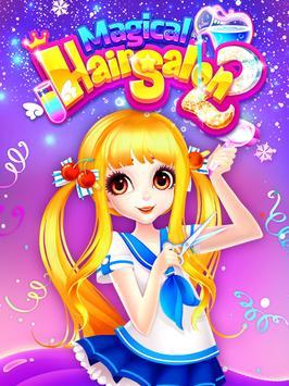 Fashion Hair Salon Games: Royal Hairstyle screenshot 8