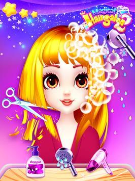 Fashion Hair Salon Games: Royal Hairstyle screenshot 17