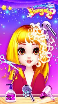 Fashion Hair Salon Games: Royal Hairstyle screenshot 1