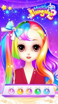 Fashion Hair Salon Games: Royal Hairstyle screenshot 2