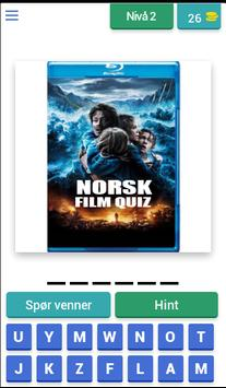 Norsk Film Quiz poster