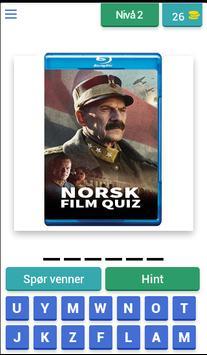 Norsk Film Quiz screenshot 1