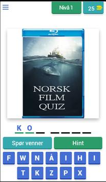 Norsk Film Quiz screenshot 3