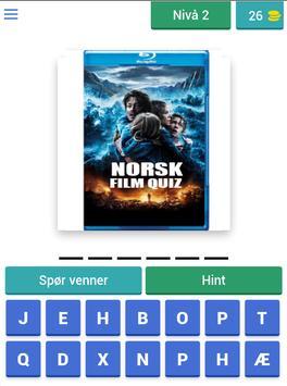 Norsk Film Quiz screenshot 5