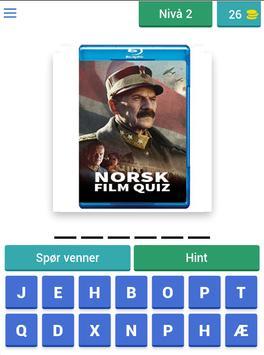 Norsk Film Quiz screenshot 6