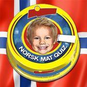 Norsk Mat Quiz: Gjett Kjente Matvarer fra Butikken 아이콘