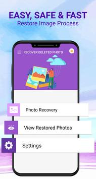 Recover Deleted Photos - Photos Recovery App 2020 screenshot 1