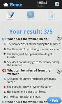 English Reading Test screenshot 3