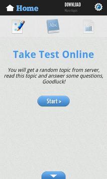 English Reading Test screenshot 1