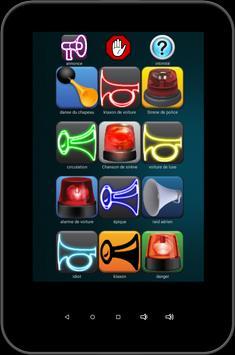 cornes et sirènes sonneries capture d'écran 2