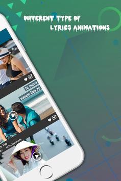 Lyrical.ly - Lyrical Video Status Maker screenshot 3