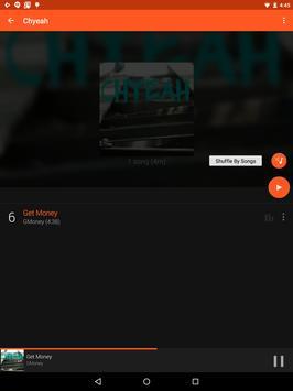 Material Dark Orange Theme screenshot 9