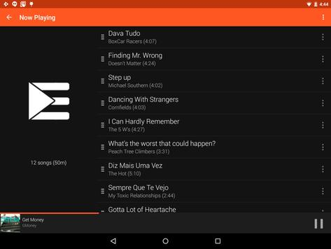 Material Dark Orange Theme screenshot 10