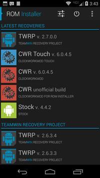 ROM Installer Screenshot 2