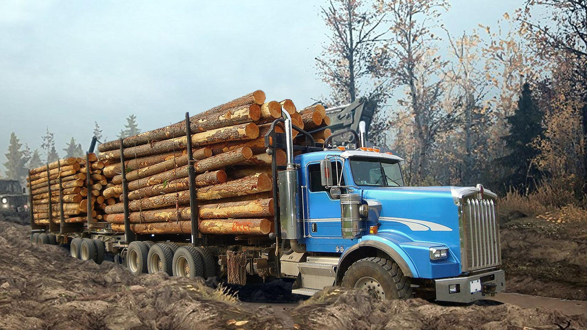 Heavy Logging Cargo Truck Transport Simulator for Android