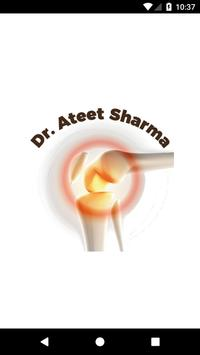 Dr. Ateet Sharma - Doctor Consult App poster