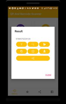 QR And Barcode Scanner - Easy Scan screenshot 1
