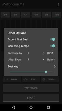 Metronome M1 captura de pantalla 4