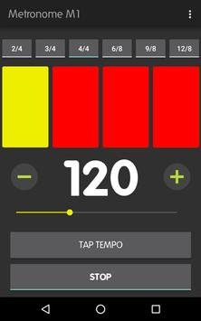 Metronome M1 captura de pantalla 6