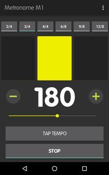 Metronome M1 captura de pantalla 7