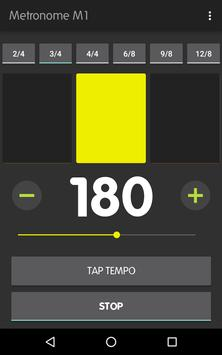 Metronome M1 captura de pantalla 11