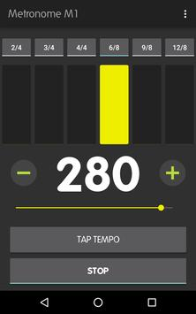 Metronome M1 captura de pantalla 12