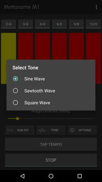 Metronome M1 captura de pantalla 2