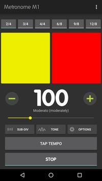 Metronome M1 captura de pantalla 3