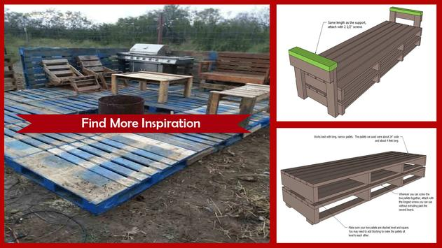 DIY Pallet Furniture Instructions step by step screenshot 1