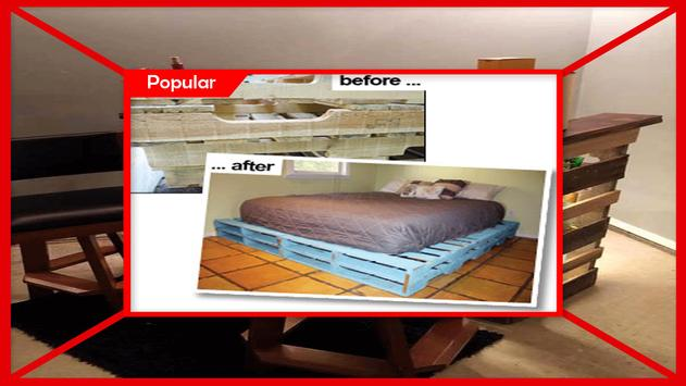DIY Pallet Furniture Instructions step by step screenshot 3