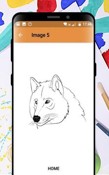 Learn How to Draw Wolves Step by Step screenshot 3