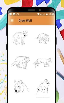 Learn How to Draw Wolves Step by Step poster