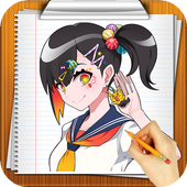 Learn How to Draw Manga Step by step icon