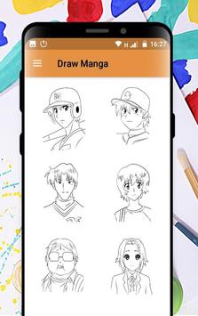 Learn How to Draw Manga Step by step poster