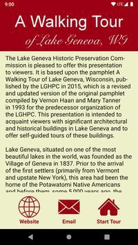 Lake Geneva Walking Tour screenshot 1