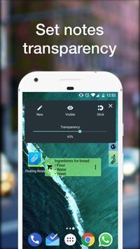 Notas Flutuantes imagem de tela 4