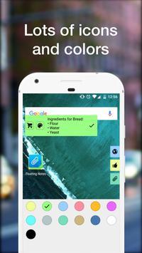 Notas Flutuantes imagem de tela 5