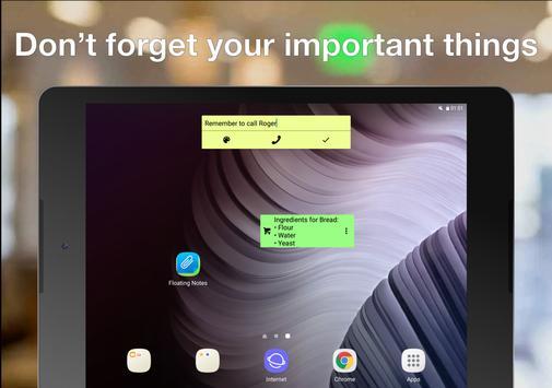Notas Flutuantes imagem de tela 8