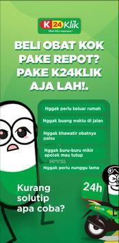 K24KLIK: Beli Obat, Konsultasi, Panggil Dokter poster