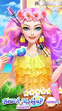 Makeup Salon - Beach Party screenshot 1