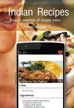 Indian Recipes screenshot 11