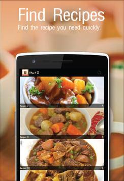 Meat Recipes! screenshot 3