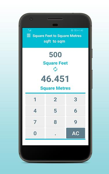 Square Feet To Square Meters Ft To M Converter For Android Apk Download